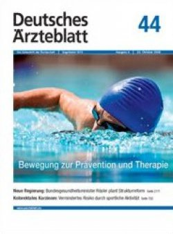 Deutsches Ärzteblatt 44/2009