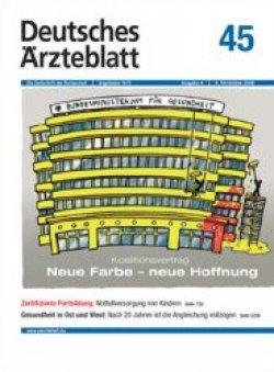 Deutsches Ärzteblatt 45/2009