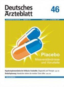 Deutsches Ärzteblatt 46/2009
