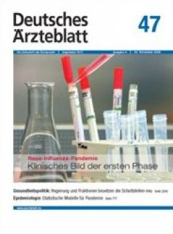 Deutsches Ärzteblatt 47/2009