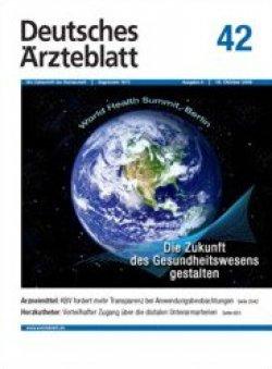 Deutsches Ärzteblatt 42/2009