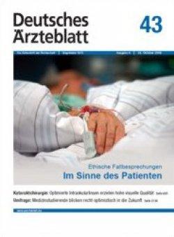 Deutsches Ärzteblatt 43/2009