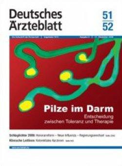 Deutsches Ärzteblatt 51-52/2009