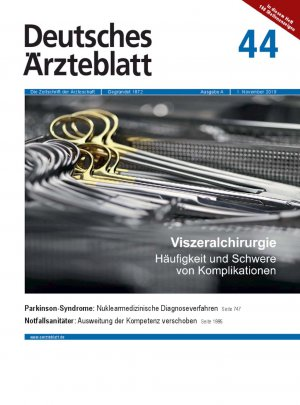 Deutsches Ärzteblatt 44/2019