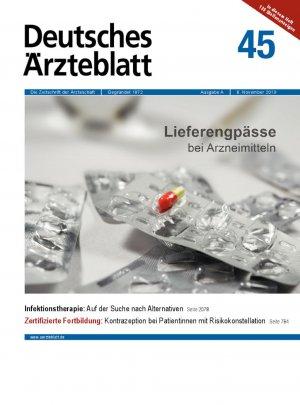 Deutsches Ärzteblatt 45/2019