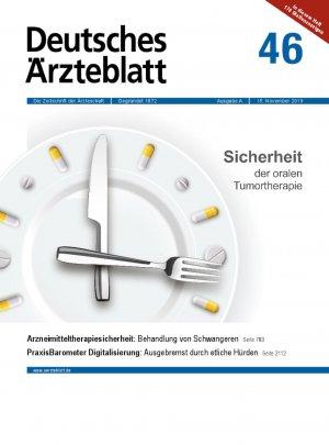 Deutsches Ärzteblatt 46/2019