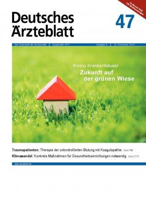 Deutsches Ärzteblatt 47/2019