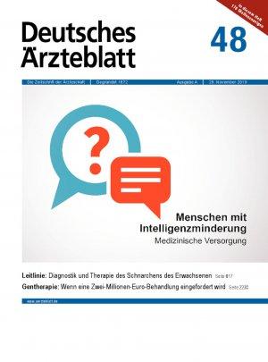 Deutsches Ärzteblatt 48/2019