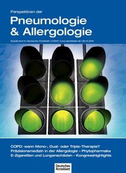 Deutsches Ärzteblatt 49/2019 SUPPLEMENT: Perspektiven der Pneumologie & Allergologie