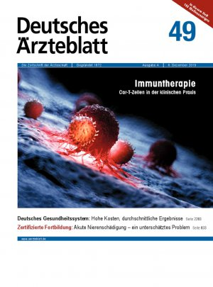 Deutsches Ärzteblatt 49/2019