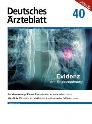Deutsches Ärzteblatt 40/2019