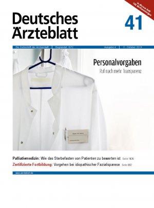 Deutsches Ärzteblatt 41/2019