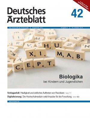 Deutsches Ärzteblatt 42/2019