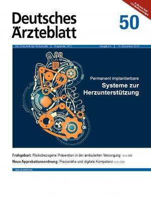 Deutsches Ärzteblatt 50/2019