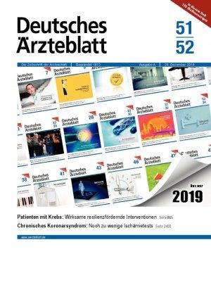Deutsches Ärzteblatt 51-52/2019