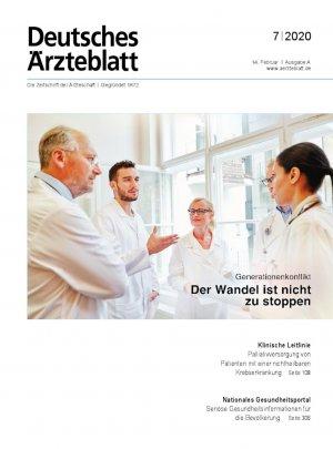 Deutsches Ärzteblatt 7/2020