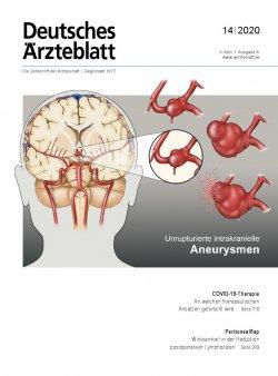 Deutsches Ärzteblatt 14/2020