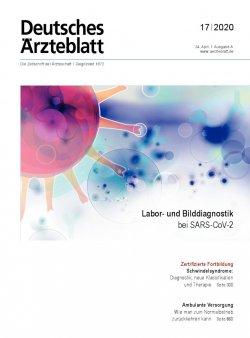 Deutsches Ärzteblatt 17/2020