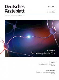 Deutsches Ärzteblatt 19/2020