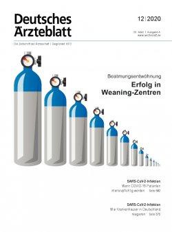 Deutsches Ärzteblatt 12/2020