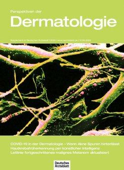 Deutsches Ärzteblatt 24/2020 SUPPLEMENT: Perspektiven der Dermatologie