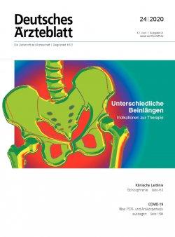 Deutsches Ärzteblatt 24/2020