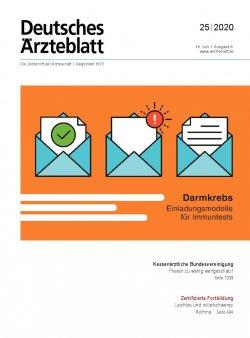 Deutsches Ärzteblatt 25/2020