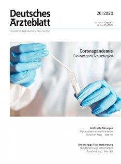 Deutsches Ärzteblatt 26/2020