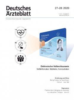 Deutsches Ärzteblatt 27-28/2020