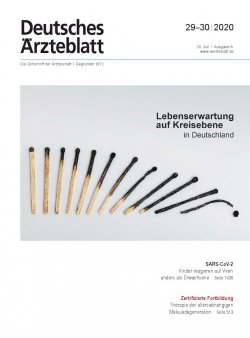 Deutsches Ärzteblatt 29-30/2020