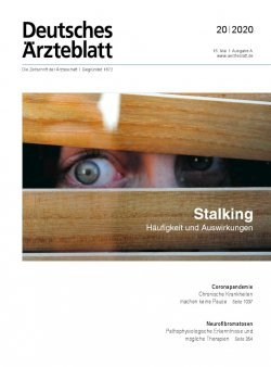 Deutsches Ärzteblatt 20/2020