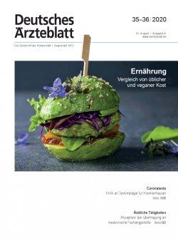 Deutsches Ärzteblatt 35-36/2020