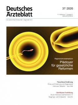 Deutsches Ärzteblatt 37/2020