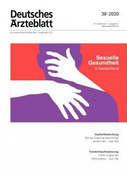Deutsches Ärzteblatt 39/2020
