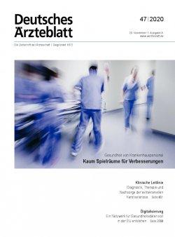 Deutsches Ärzteblatt 47/2020