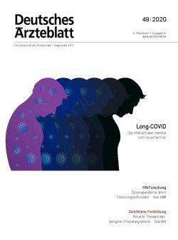 Deutsches Ärzteblatt 49/2020