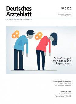 Deutsches Ärzteblatt 40/2020
