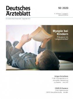 Deutsches Ärzteblatt 50/2020