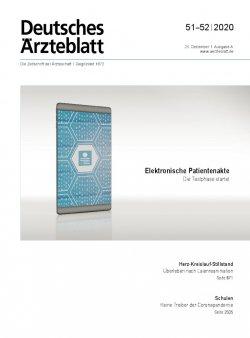 Deutsches Ärzteblatt 51-52/2020