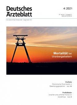 Deutsches Ärzteblatt 4/2021
