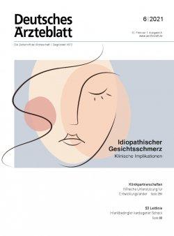 Deutsches Ärzteblatt 6/2021