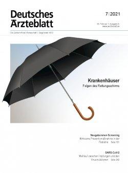 Deutsches Ärzteblatt 7/2021