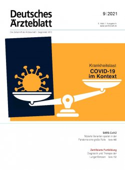 Deutsches Ärzteblatt 9/2021