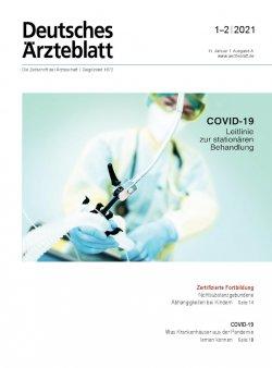 Deutsches Ärzteblatt 1-2/2021