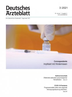 Deutsches Ärzteblatt 3/2021