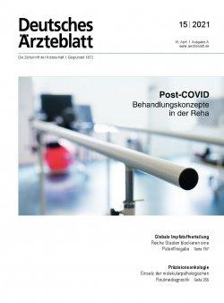 Deutsches Ärzteblatt 15/2021