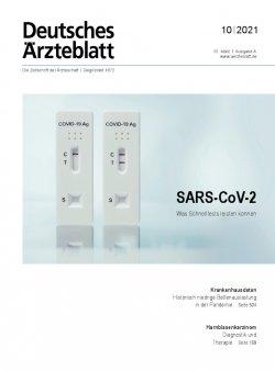 Deutsches Ärzteblatt 10/2021
