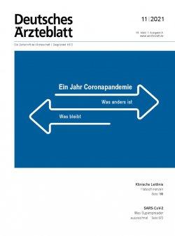 Deutsches Ärzteblatt 11/2021