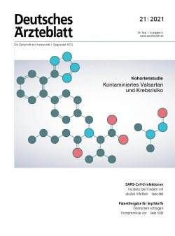 Deutsches Ärzteblatt 21/2021