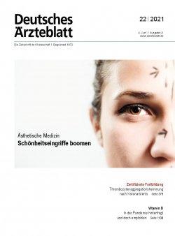 Deutsches Ärzteblatt 22/2021